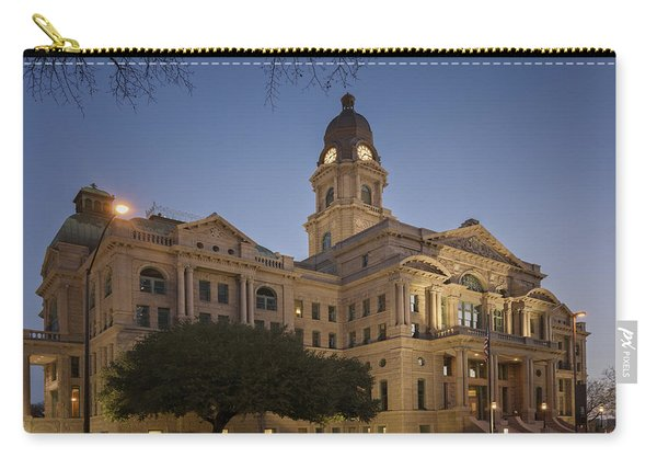 Tarrant County Courthouse Rebirth Carry-all Pouch