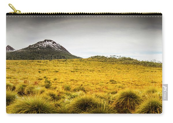 Tasmania Mountains Of The East-west Great Divide  Carry-all Pouch