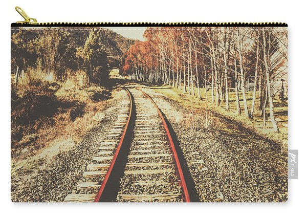 Tasmanian Country Tracks Carry-all Pouch