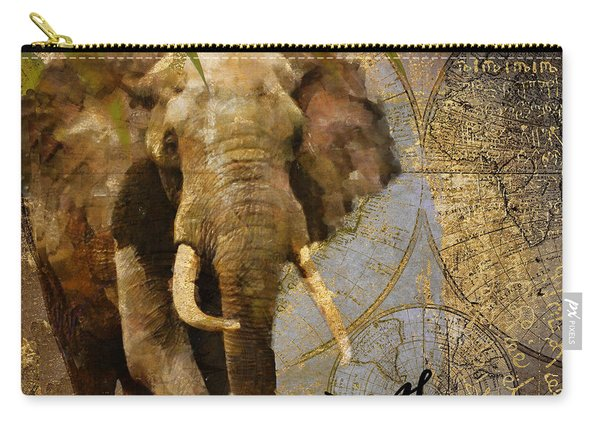 Taste Of Africa Elephant Carry-all Pouch