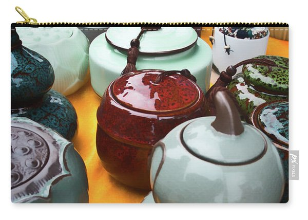 Tea Pots For Sale 3 Carry-all Pouch