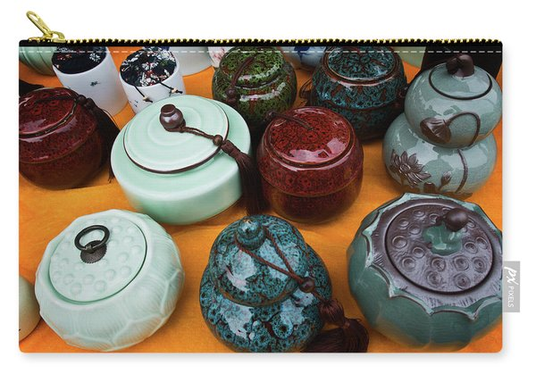 Tea Pots For Sale 4 Carry-all Pouch