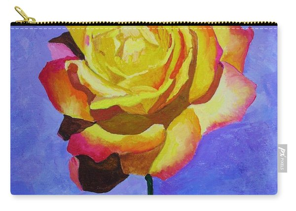 Tea Rose Carry-all Pouch