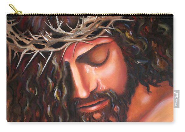Tears From The Crown Of Thorns Carry-all Pouch