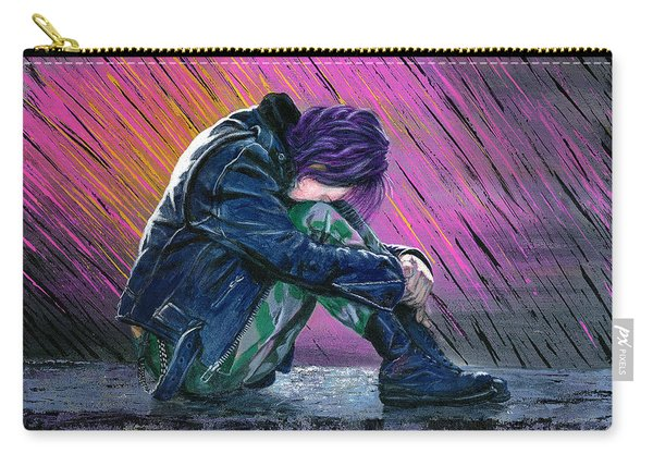 Tears In The Rain Carry-all Pouch