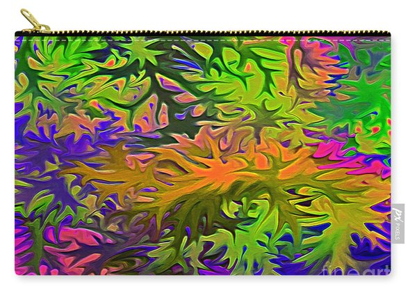 Technicolor Leaves Carry-all Pouch