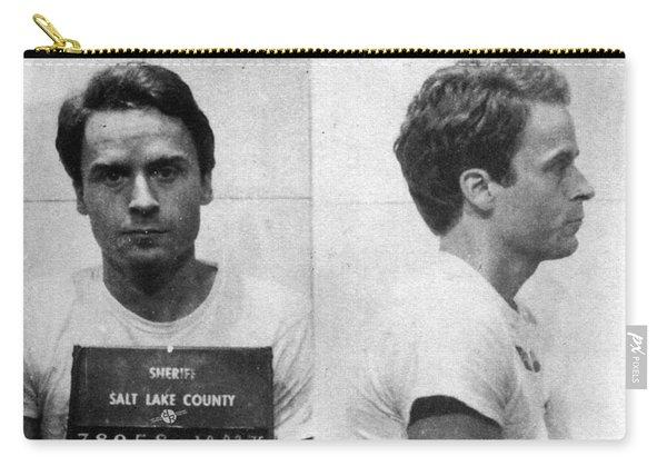 Ted Bundy Mug Shot 1975 Horizontal  Carry-all Pouch
