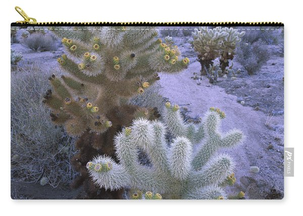 Teddy Bear Cholla In Joshua Tree Np Carry-all Pouch