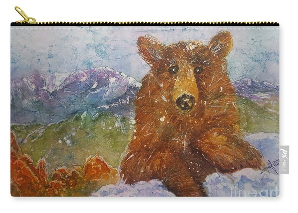 Teddy Wakes Up In The Most Desireable City In The Nation Carry-all Pouch
