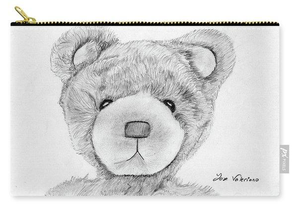 Teddybear Portrait Carry-all Pouch