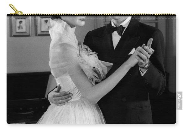 Teen Couple Dancing, C.1950s Carry-all Pouch