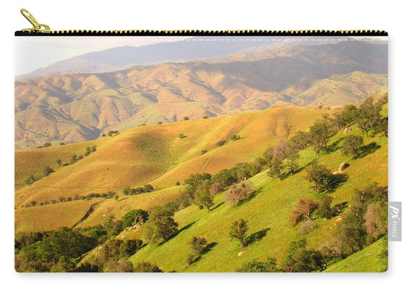 Tehachapi Topography Carry-all Pouch