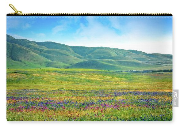 Tejon Ranch Wildflowers Carry-all Pouch