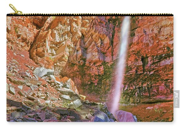 Telluride, Colorado's Cornet Falls - Colorful Colorado - Waterfall Carry-all Pouch