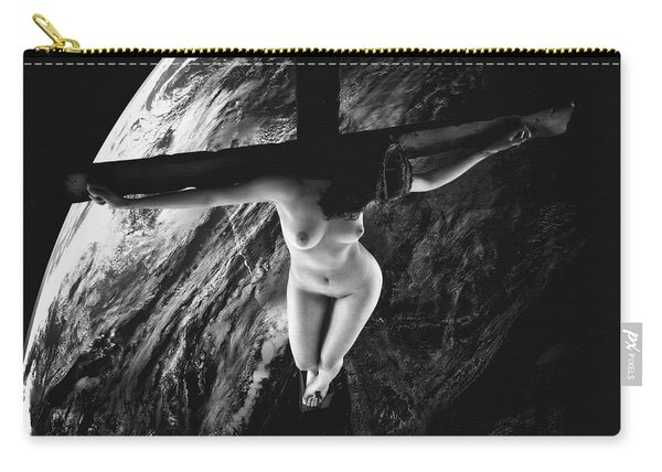 Tellus Crucifix Carry-all Pouch