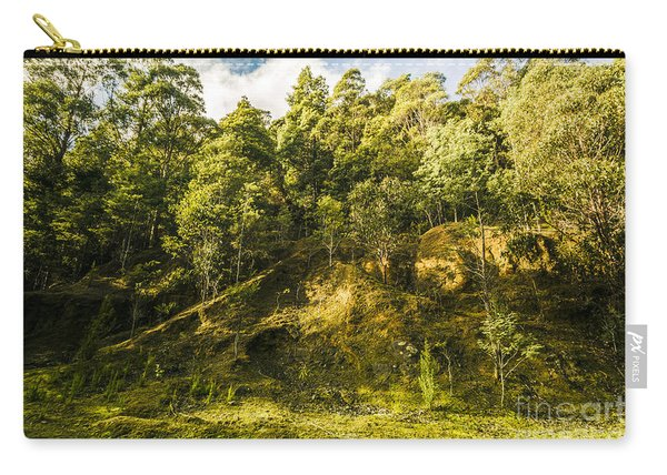 Temperate Rainforest Scene Carry-all Pouch
