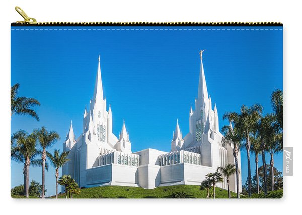 Temple Glow Carry-all Pouch