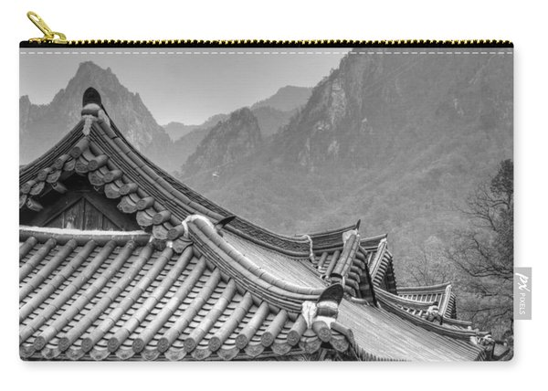 Temple In Sokcho  Carry-all Pouch