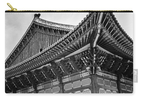 Temple In South Korea Carry-all Pouch