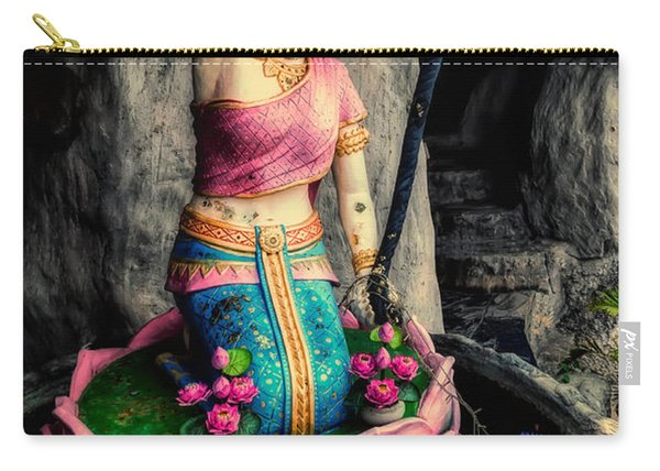 Temple Lady Statue Carry-all Pouch