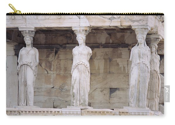 Temple Of Athena Nike Erectheum Carry-all Pouch