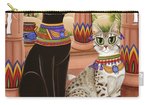 Temple Of Bastet - Bast Goddess Cat Carry-all Pouch