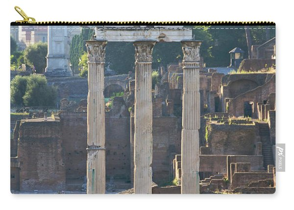 Temple Of Vesta Arch Of Titus. Temple Of Castor And Pollux. Forum Romanum Carry-all Pouch