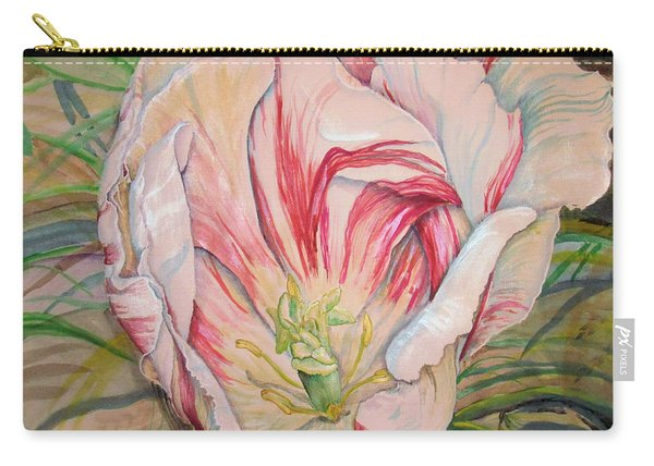 Tempting  Tulip Carry-all Pouch