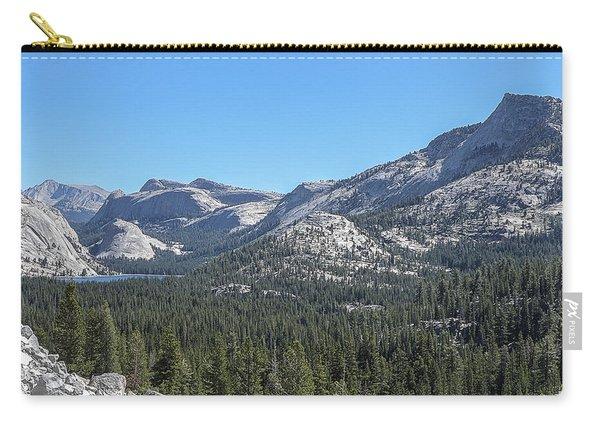 Tenaya Lake And Surrounding Mountains Yosemite National Park Carry-all Pouch