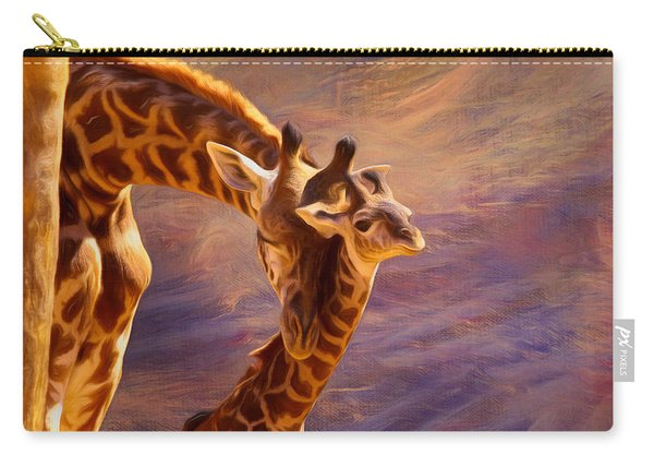 Tenderness Painted Carry-all Pouch