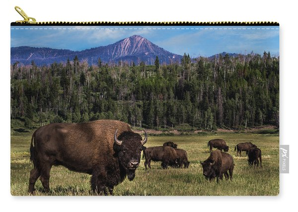 Tending The Herd Carry-all Pouch