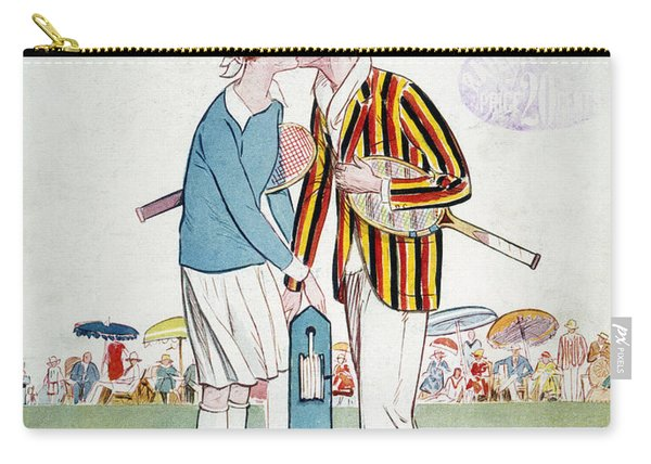 Tennis Court Romance, 1925 Carry-all Pouch