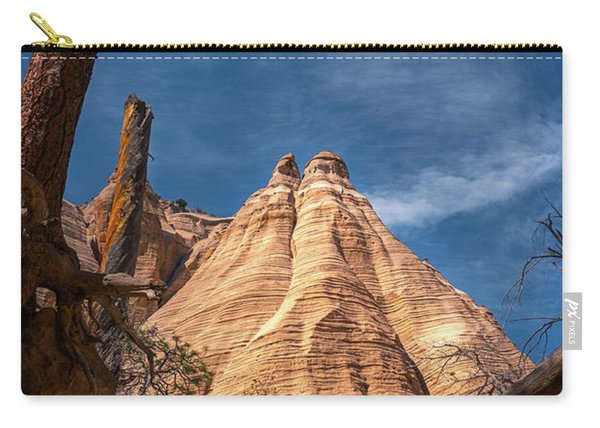 Tent Rock And Ponderosa Pine Carry-all Pouch