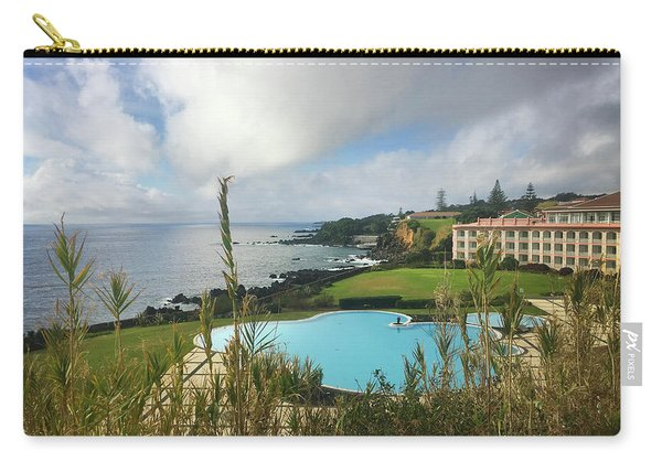 Terceira Mar Holtel And Atlantic Ocean Carry-all Pouch