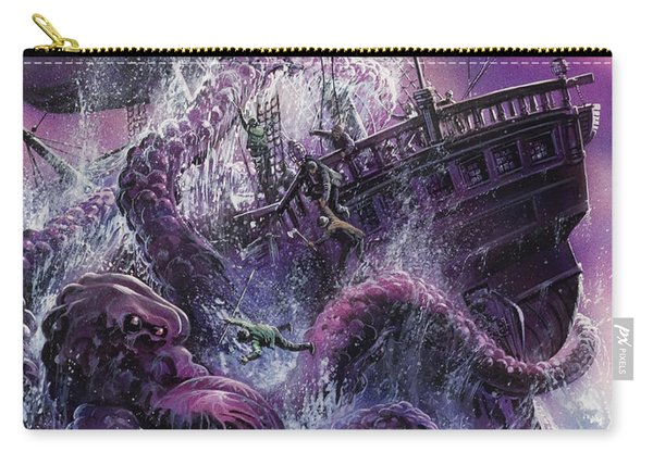 Terror From The Deep Carry-all Pouch