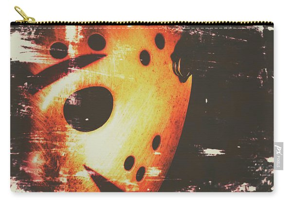 Terror On The Ice Carry-all Pouch