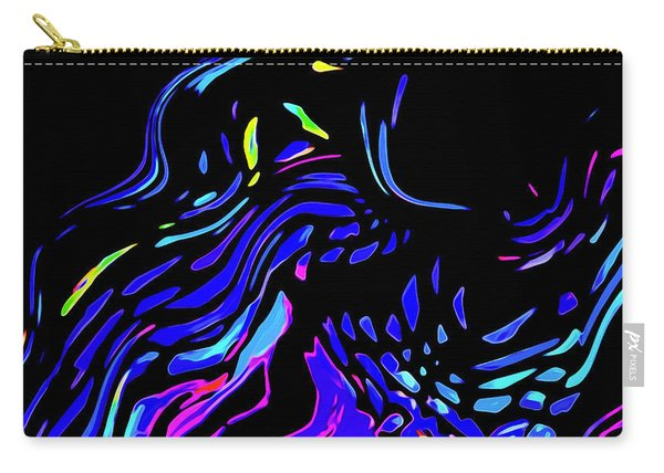 Carry-all Pouch featuring the digital art Toccata by Gina Harrison