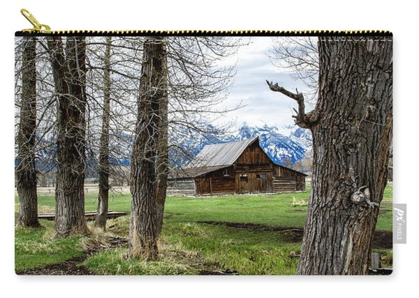 Moulton Barn On Mormon Row Carry-all Pouch