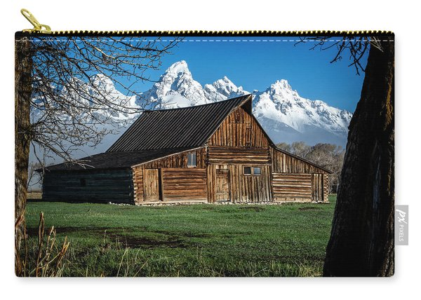 Moulton Barn And Tetons Carry-all Pouch