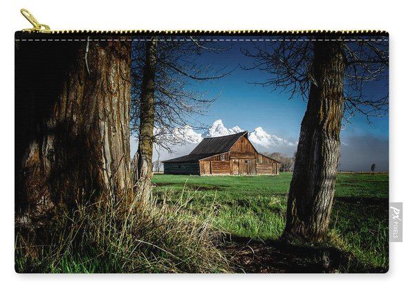 Tetons And Moulton Barn Carry-all Pouch