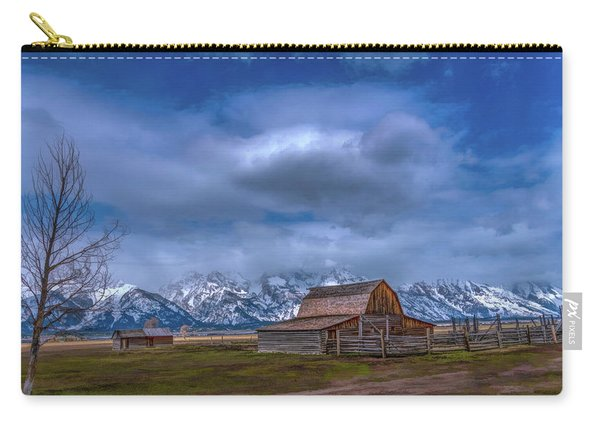 Teton National Park Mormon Row Carry-all Pouch