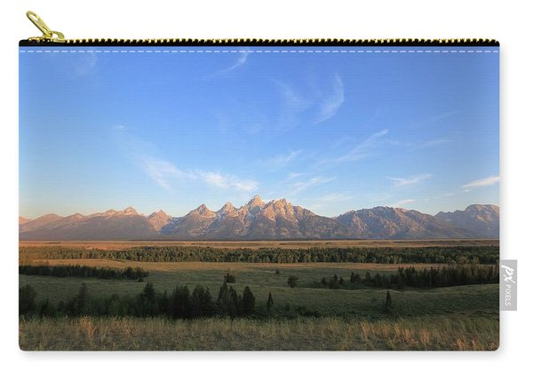 Teton Range After Sunrise Carry-all Pouch