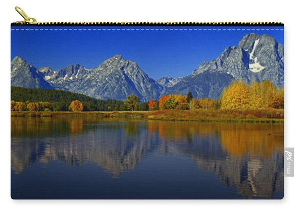 Tetons From Oxbow Bend Carry-all Pouch