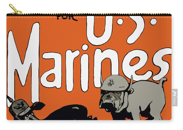 Teufel Hunden - German Nickname For Us Marines Carry-all Pouch