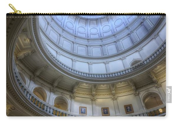 Texas Capitol Dome Interior Carry-all Pouch