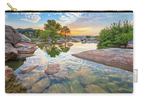 Texas Hill Country September Sunrise 3 Carry-all Pouch