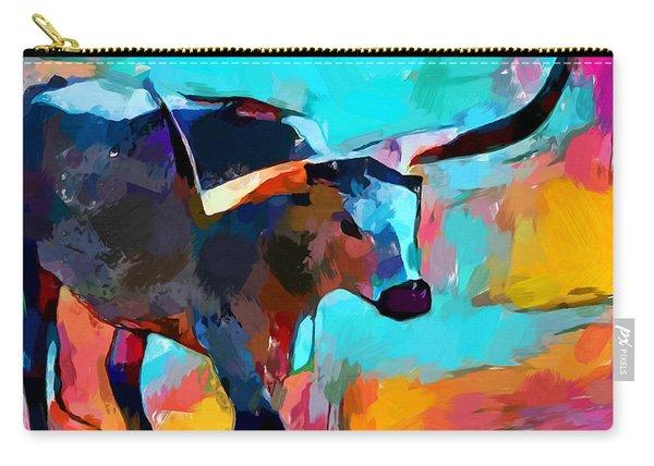 Texas Longhorn Carry-all Pouch