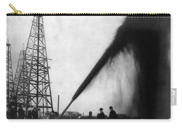 Texas: Oil Derrick, C1901 Carry-all Pouch