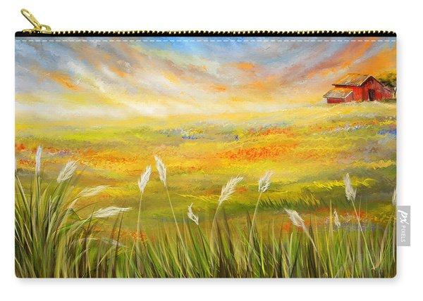 Texas Scene - Texas Art Carry-all Pouch