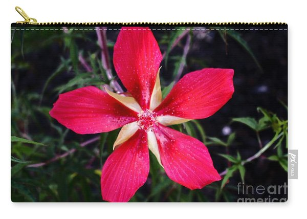 Texas Star Hibiscus Red 2.0 Carry-all Pouch